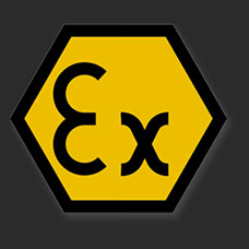 ATEX Approved to be instrinsically safe